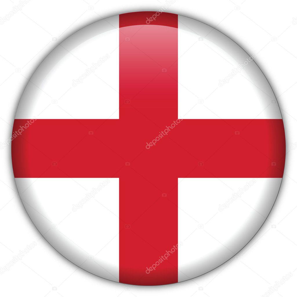 icono de la bandera de Inglaterra — Archivo Imágenes Vectoriales ...