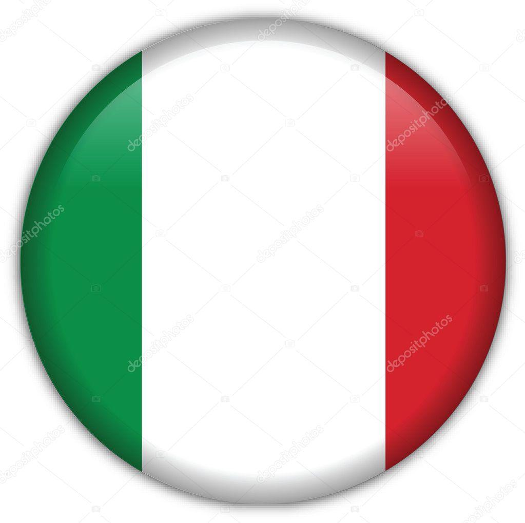 Icono De La Bandera De Italia Archivo Imagenes Vectoriales