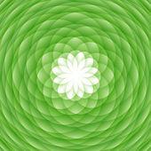 absztrakt zöld dísz