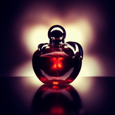 Bottle of perfume