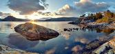 Photo Norwegian landscape