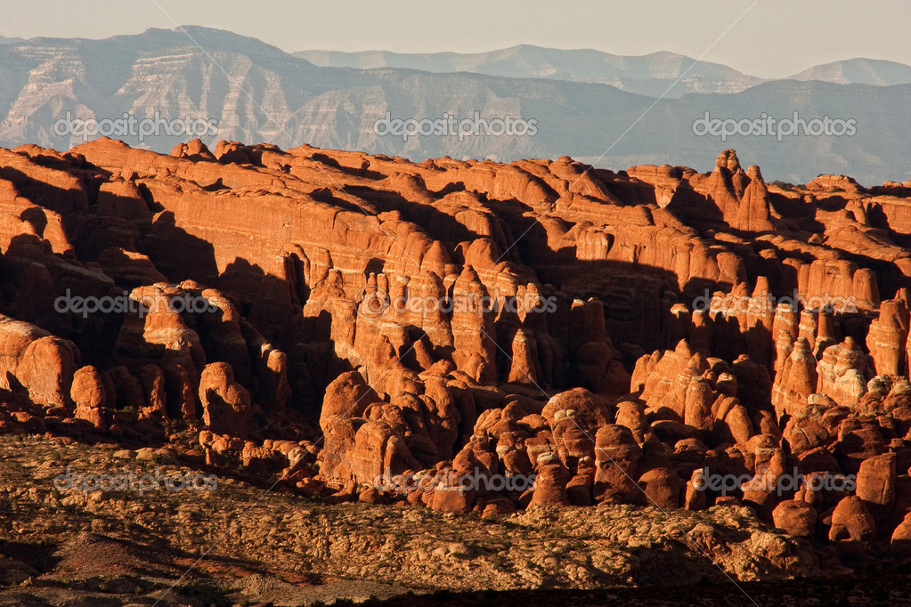 Fiery Furnace Formation at Arches National Park