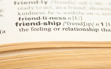 Friendship word