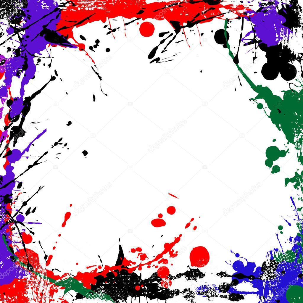 marco de arte Grunge — Vector de stock © alekup #5265661