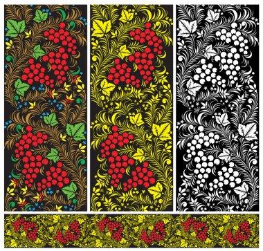 Seamless pattern in Russian stile