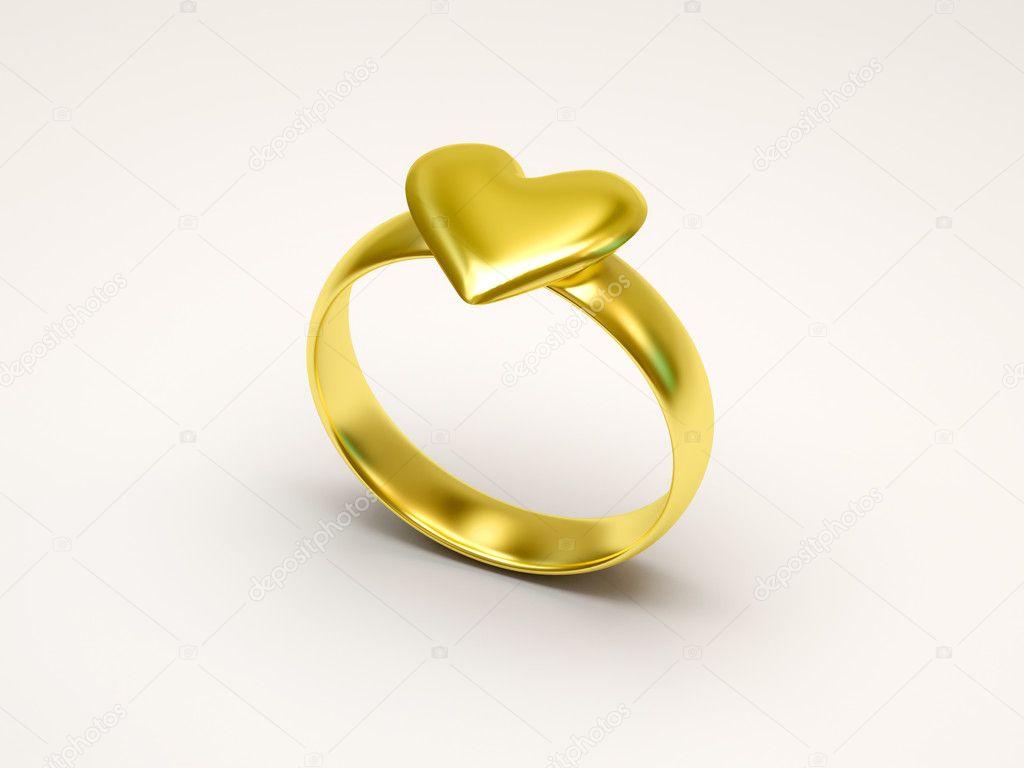 Goldene Hochzeit Ringe Stockfoto C Ras Slava 4979123