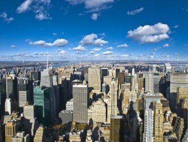 The New York City panorama