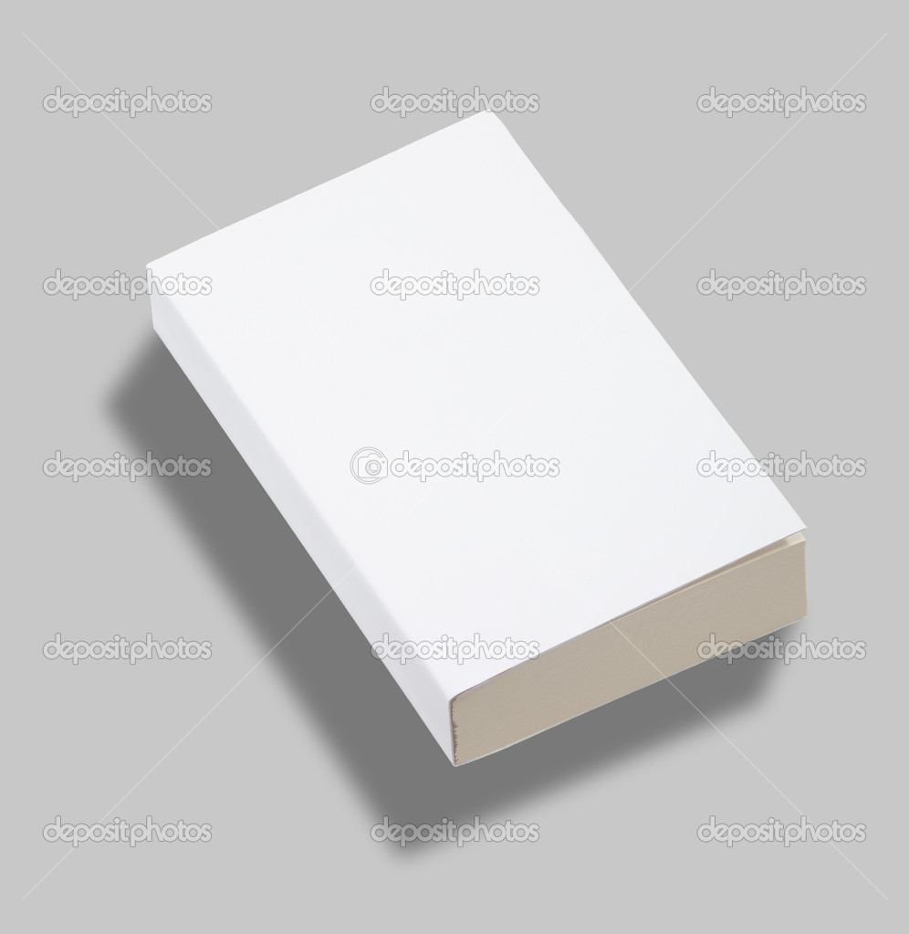 blank paperback book cover w clipping path stock photo kropic