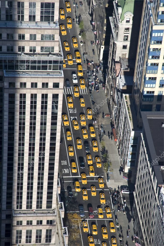 The New York taxi