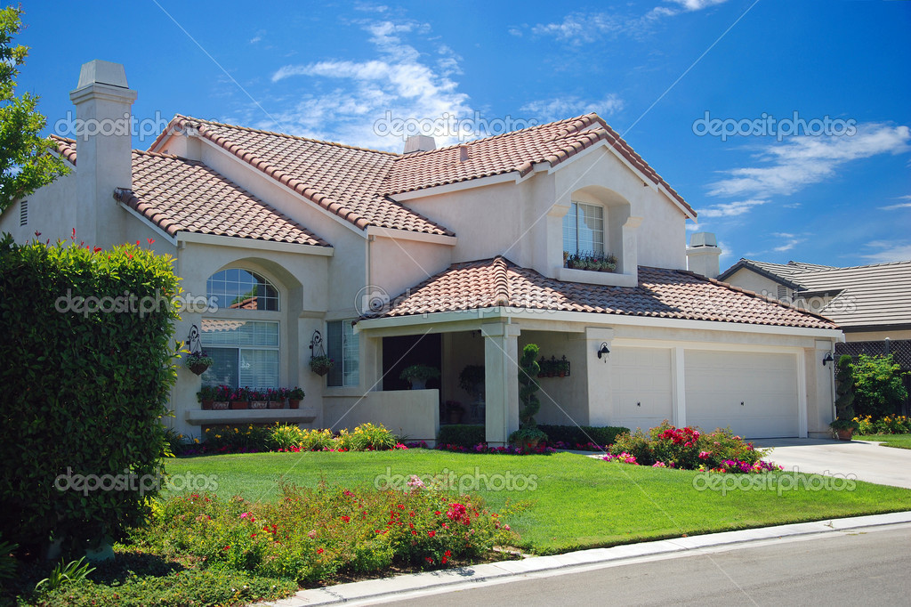 nouvelle maison de r ve am ricain photographie vacclav 4985947. Black Bedroom Furniture Sets. Home Design Ideas