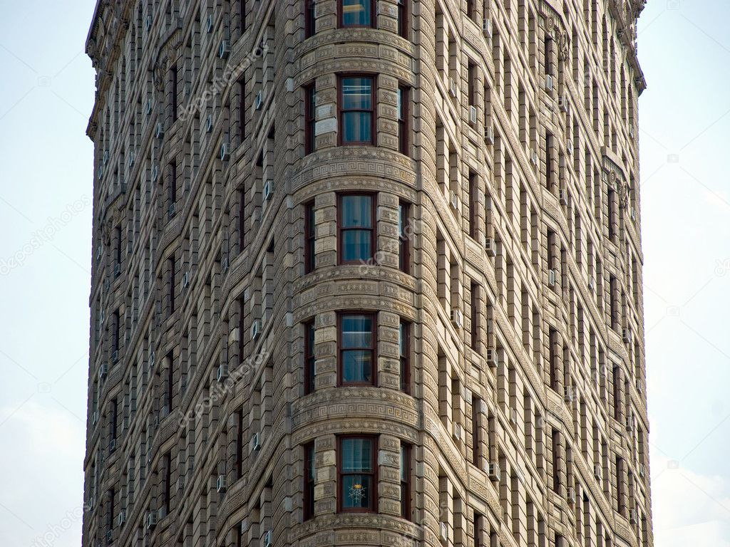 The Flatiron Building In New York City Stock Editorial