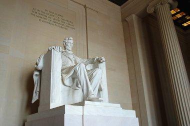 Abraham Lincoln statue in the Lincoln Memorial, Washington DC
