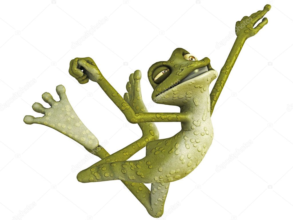 Jumping Frog Pictures