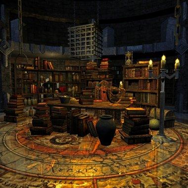 Wizard's room