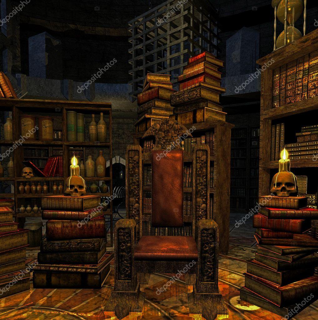 Wizard 's room