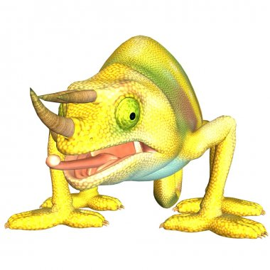 Chameleon toon