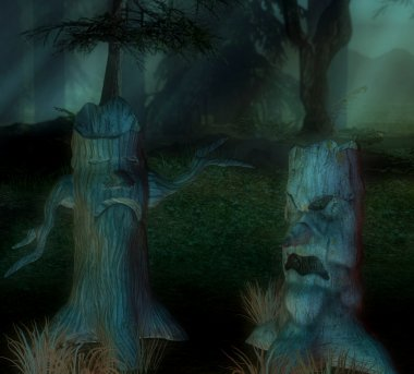 Creepy trees