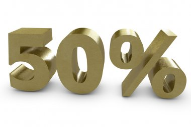 Fifty percent in 3d