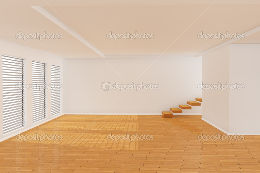 3d empty room stock photo pixelfeger 5038464 for Habitaciones 3d gratis
