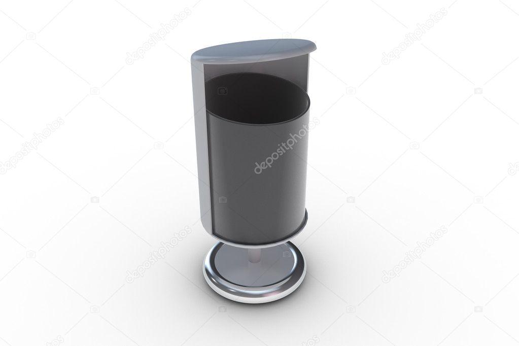 Pattumiera moderno u foto stock pixelfeger