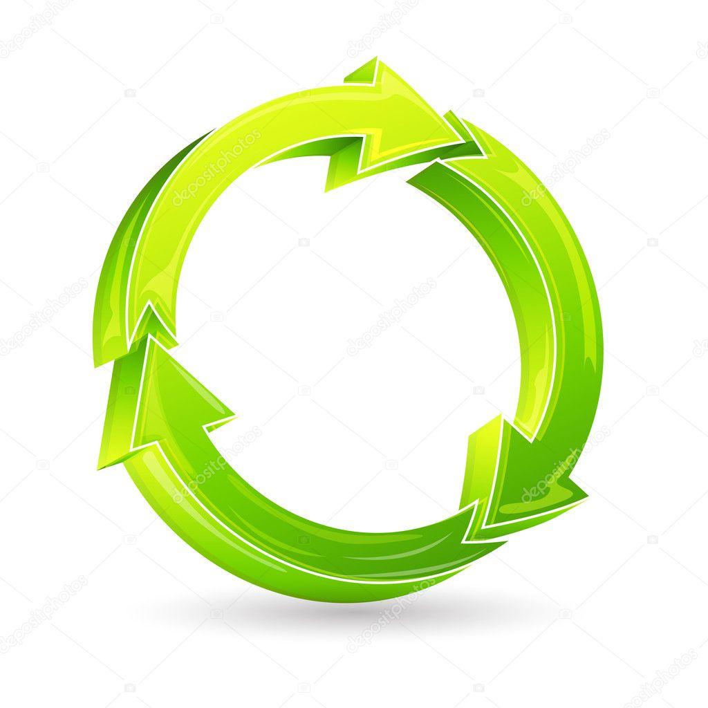 Recycle Arrow