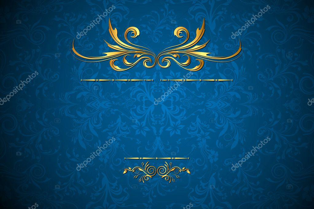 Royal Floral Background