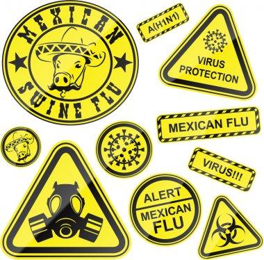 Virus stickers