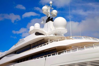 Yacht radar technology and communications equipment
