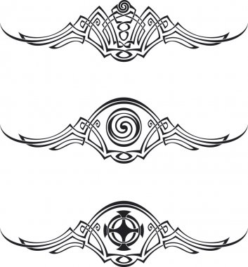 Celtic style patterns