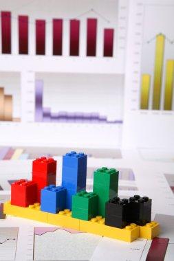 Building block charts