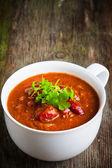 Fotografie A cup of chili con carne