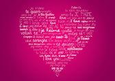 Fotografia cuore ti amo