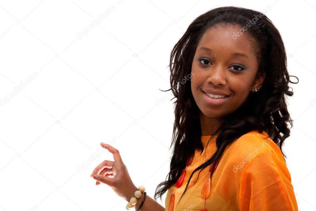 Негритянка юная