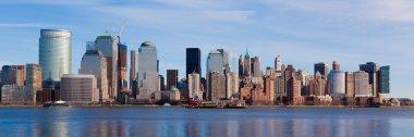 New York - panoramic view of Manhattan skyline