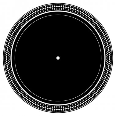 Turntable plate with notches