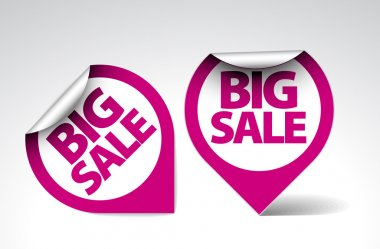 Round Labels stickers for big sale