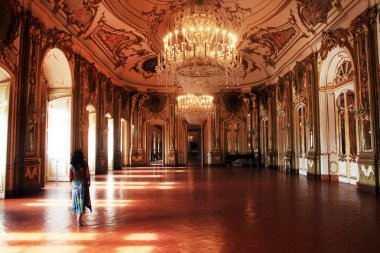 Halls of Queluz Palace