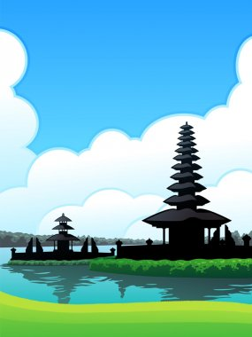 Bedugul Bali Background