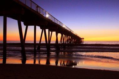 Night pier of LA