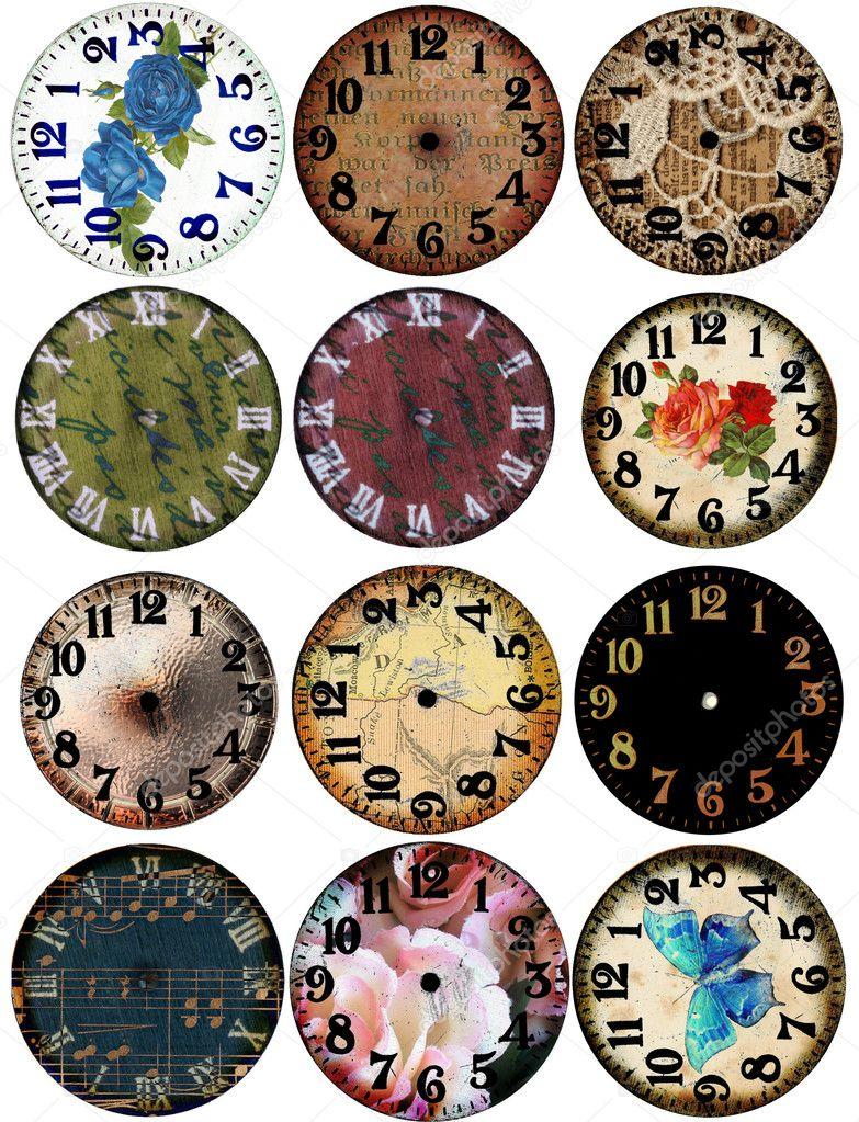 Grunge Clock Watch Faces 12