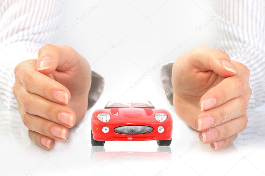 Car insurance concept.