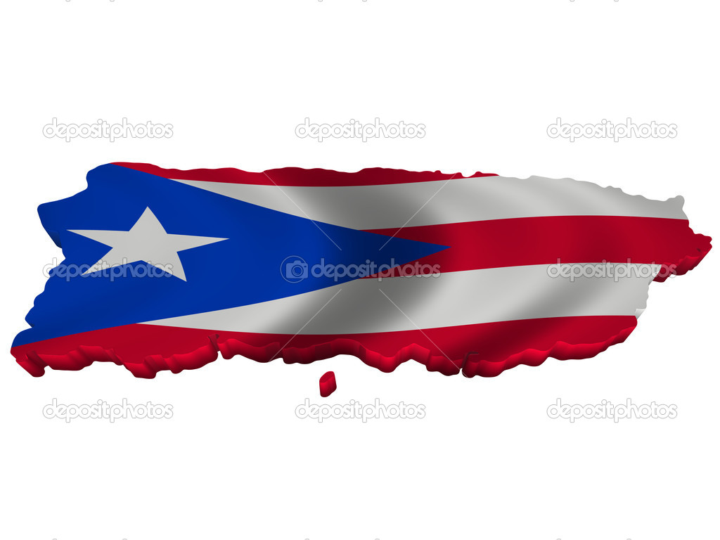 Flag And Map Of Puerto Rico Stock Photo C Sav Up 5245884