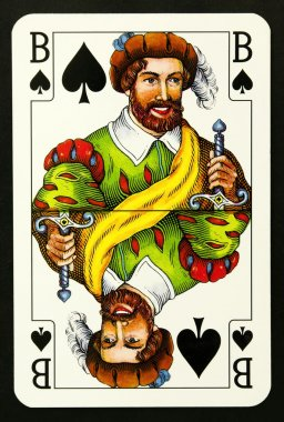 Knave playing card