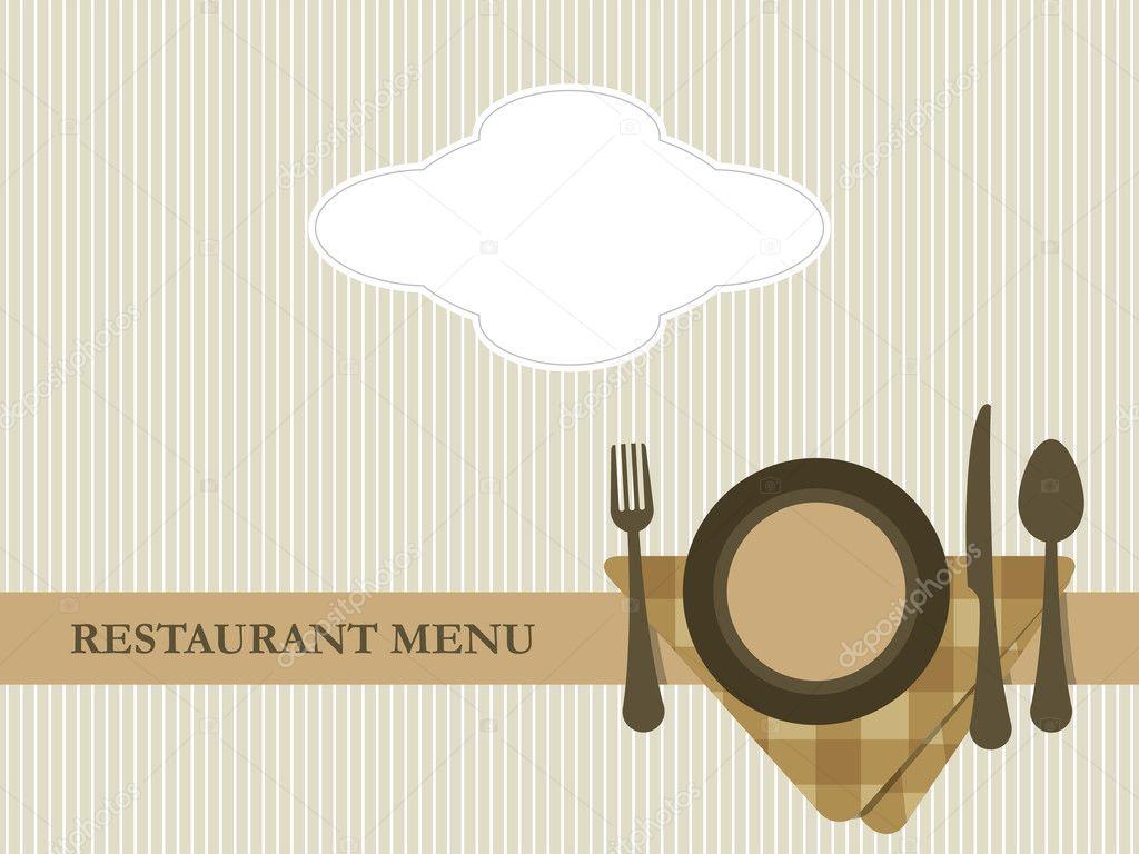 Italian menu template free download