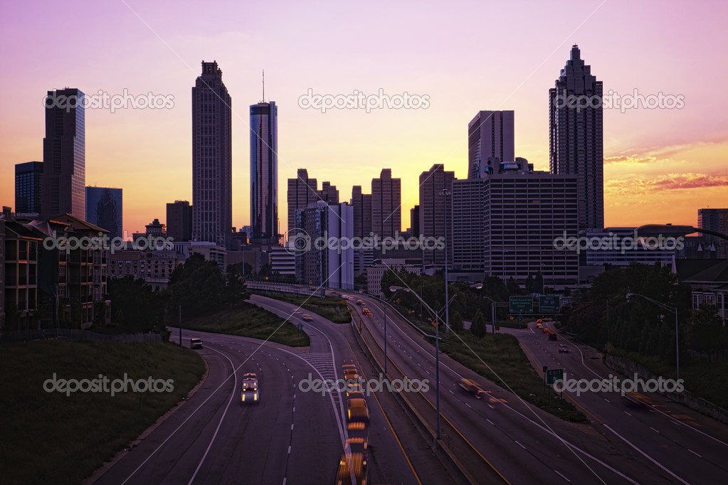 Downtown Atlanta skyline