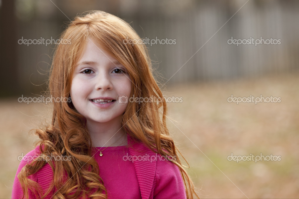 Redheaded little girl