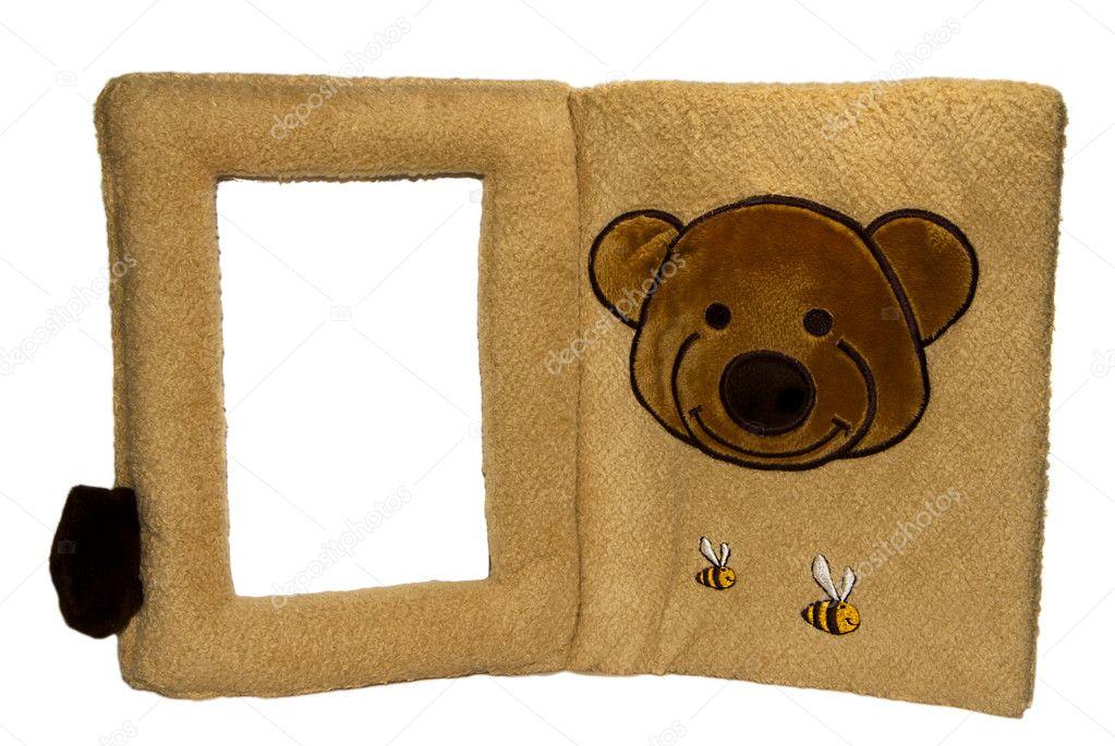 weichbaby familie fotorahmen mit teddy bear und die bienen ...