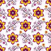 Květinový vzor bezešvé bílá růžová