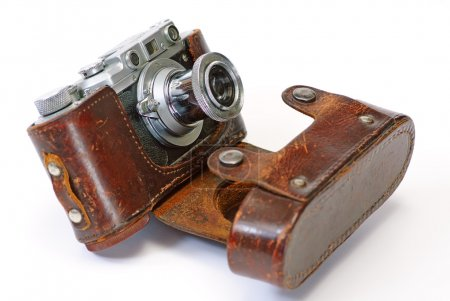 Photo for Still life with antique camera - Royalty Free Image