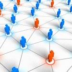 Social network concept...